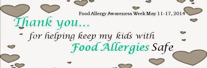 Thank you for keeping my kids with food allergies safe
