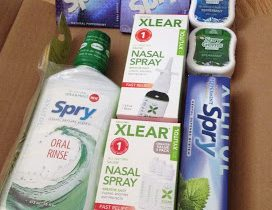 Allergy Relief with Xlear Spray