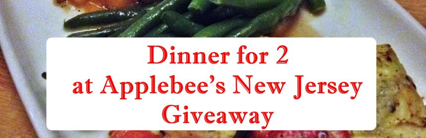 Applebees dinner for two giveaway