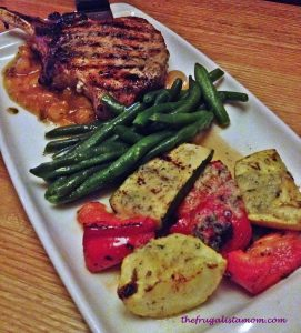 Wood Fired Porkchops