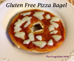Gluten free pizza Bagel